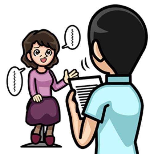 受付→問診票記入→施術方針説明