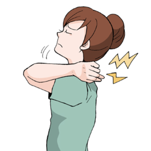 急に(1週間以内に)肩こりがひどくなったら…